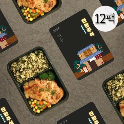 닭가슴살 간편도시락 단란주식 2종 12팩
