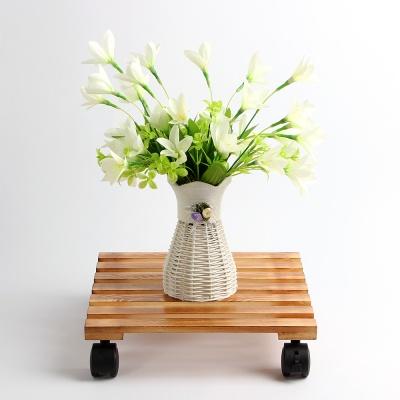 원목 이동식 화분진열대(30cm)