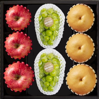 [Premium Gift] 기쁨담은 사과,배,샤인머스켓 4.5kg