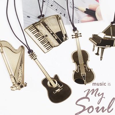 뮤직 기프트 북마크 music is my soul