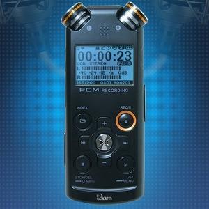 아이딤테크★보이스레코더★녹음기PRO U11(8G블랙)PCM3/D입체녹음 학습용+고감도핀마이크/전화녹음이어마이크제공