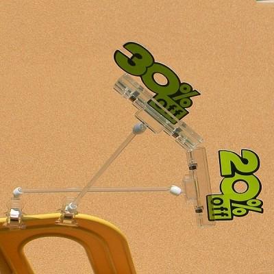 상품 상세설명,가격표시는 POP 카드클립으로-Union PLUS 쇼클립 집게(대)클립(200봉) 2개입 5021