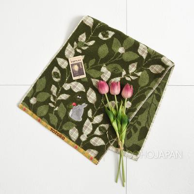 토토로 세수타올(초록잎딸기)