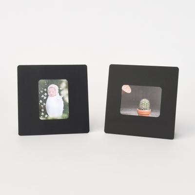 스탠딩 페이퍼프레임 - 미니 블랙 5매 (종이액자)
