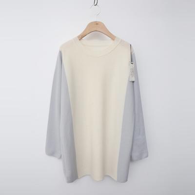 Laine Wool Combo Long Sweater