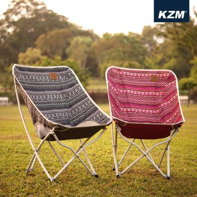 [카즈미] 벨리체어 캠핑체어 휴대용 감섬 캠핑의자