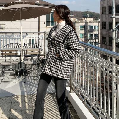 여성 여자 가을 자켓 재킷 베커즈 하운드투스 빅카라