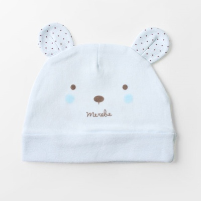 [메르베] 곰돌이M 아기모자