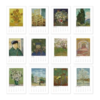 [2021 명화 캘린더] Vincent van Gogh 반 고흐 Type C