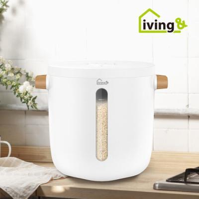 리빙앤 스마트 무선 진공쌀통 7L (6kg)