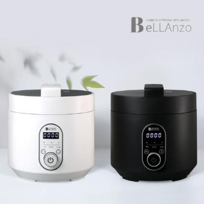 벨란조 멀티쿡 미니 전기 압력밥솥3L 블랙 화이트 택1