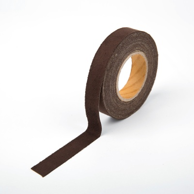 [홀리코] 10color 스웨이드 접착 테이프 - 진갈색