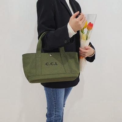 프로타백 캔버스백 에코백 카키