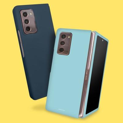 무지 컬러 하드 Z fold 2 갤럭시 제트 폴드2 케이스