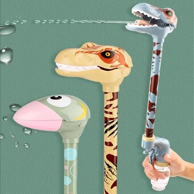 키다리 동물 물총 공룡 새 캐릭터 대형 워터건 장난감