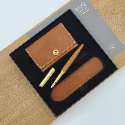 Gift Set -CW502S(카드지갑,만년필 FP-502,펜슬리브)