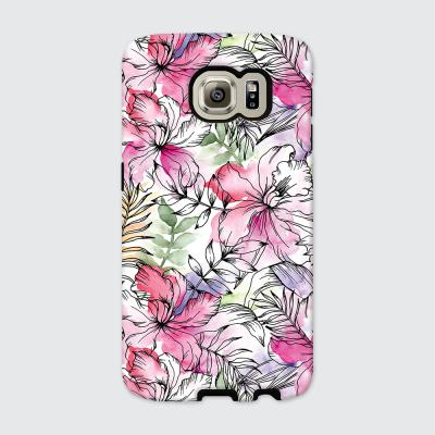 [듀얼케이스] Exotic Flower-B (갤럭시S6)