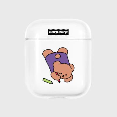Doodle bear-clear(Air pods)