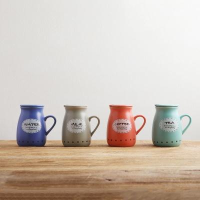 [SALE]사무실 뚜껑 밀크 머그잔컵