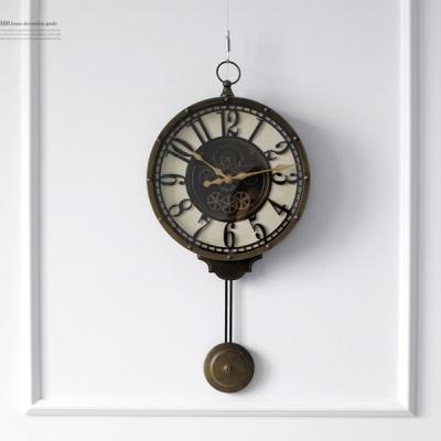 [2HOT] 엔틱 추 시계 (85417)