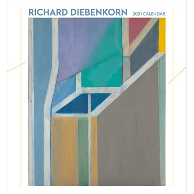 2021년 캘린더 Richard Diebenkorn