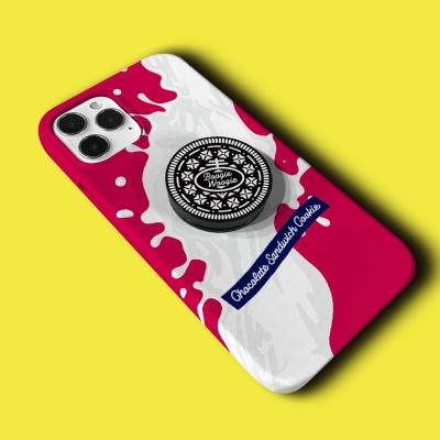 슬림하드 케이스 스마트톡 세트 - 쿠키 핑크