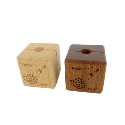 [퍼니피쉬] 나무자석 1개(당신께) - 너도밤나무
