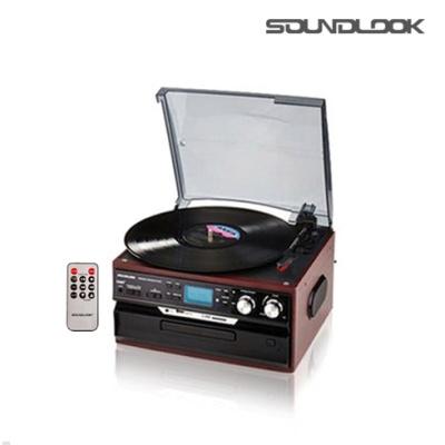 사운드룩 USB SD RADIO LP턴테이블 SLT-3080