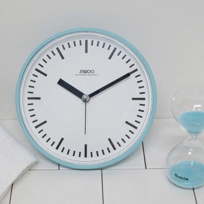 [시우아트] 레트로 컬러 욕실시계 (방수/흡착)