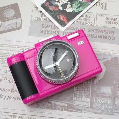 DSLR 카메라 알람시계 - 핑크