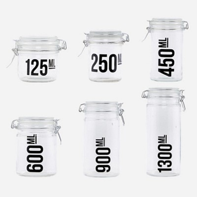 [House Doctor]Jar 6 Type 유리보관함