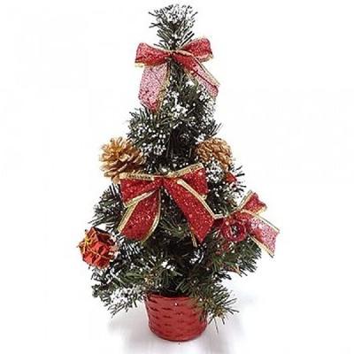 미니 크리스마스 트리 30cm (레드)