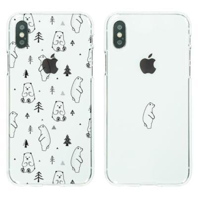 아이폰8/7플러스케이스 북극곰 소프트젤리케이스