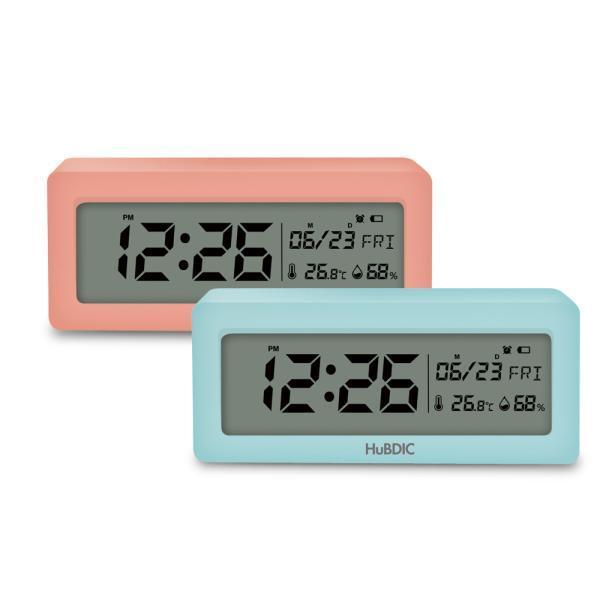 휴비딕 디지털 시계 온습도계 달력 HT-6  알람시계