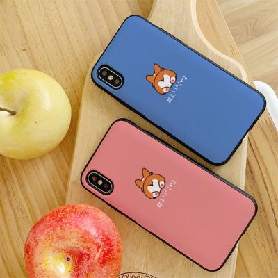 아이폰7플러스 코기식빵 카드케이스