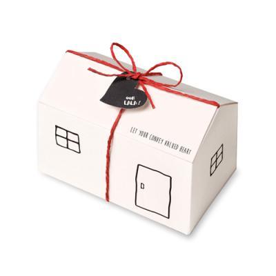 화이트 모던 하우스 상자 (3set)