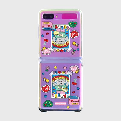 kkikki love jelly(Z플립-투명하드)