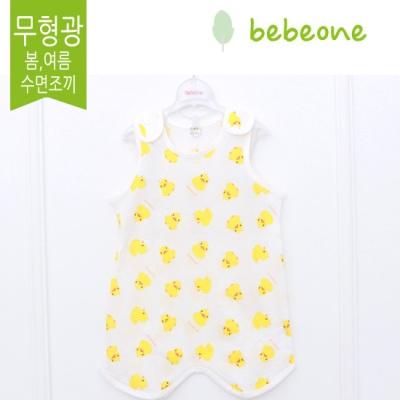 [베베원] 무형광 오리 슬리핑조끼 (봄여름 어깨형) 배앓이방지 수면조끼  신생아 아기 출산 국내생산 선물