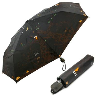 3단 자동 우산(양산겸용) - 밤에부엉이