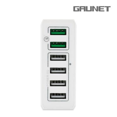 가우넷 오호 6U01Q 퀵차지3.0 60W 고속 멀티충전기