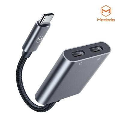 맥도도 USB C to C타입 오디오+C타입 충전 듀얼 젠더