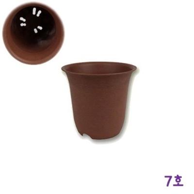 가벼운 토기화분 7호(약 지름22.3x높이21.5cm)