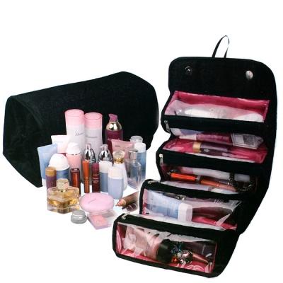 멀티 4단 소품 가방 / 대용량 화장품파우치