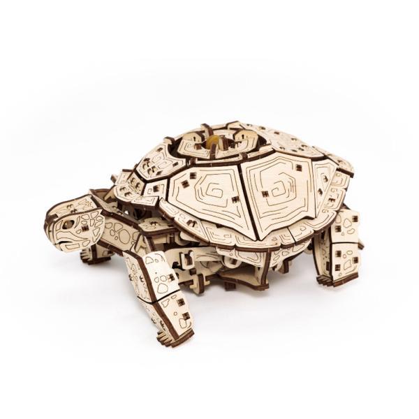 EWA 에코우드아트 3D DIY 입체 나무퍼즐 거북이