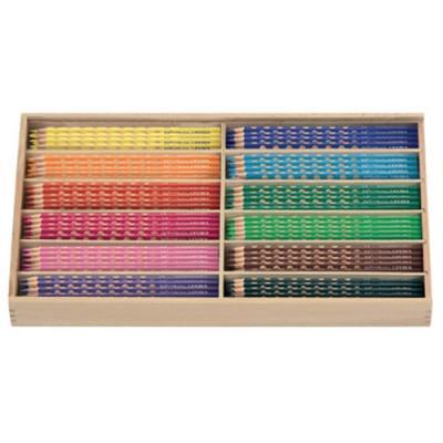 그루브슬림색연필스쿨팩 (144본) (리라) (세트) 270354