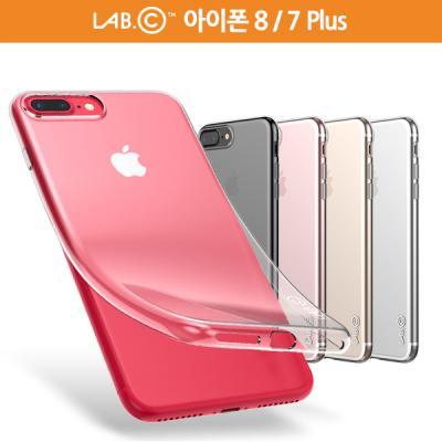랩씨 아이폰 8 / 7 플러스 케이스 슬림 소프트 투명