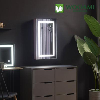 [우아미] 퍼블릭 LED 터치 수납형 거울