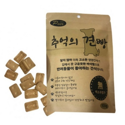 반려동물 건빵-견빵 간식 (총6개) - d