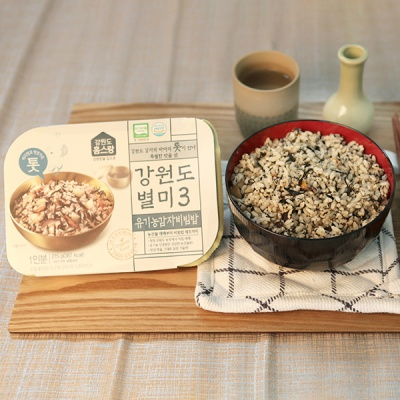 [건강한 한끼] 강원도 유기농 감자비빔밥 210gx3팩