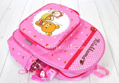 리락쿰 딸기 소풍 가방 (핑크)